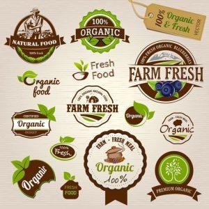 چند نمونه لیبل مربوط به کشاورزی