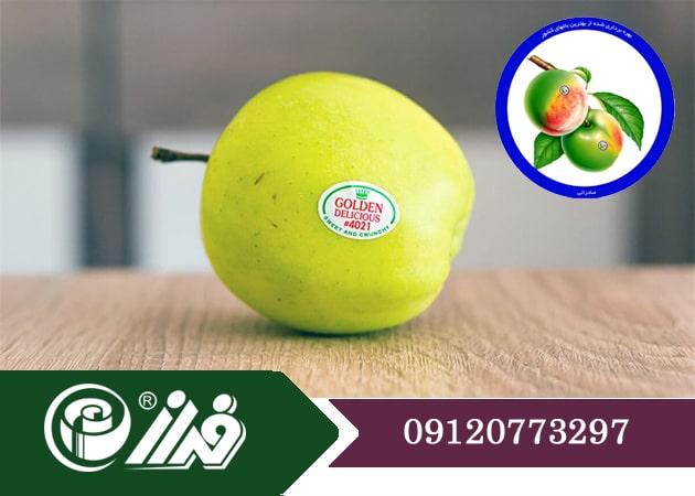 طراحی لیبل میوه بسته بندی