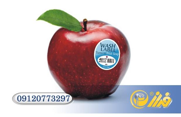 برچسب میوه بسته بندی