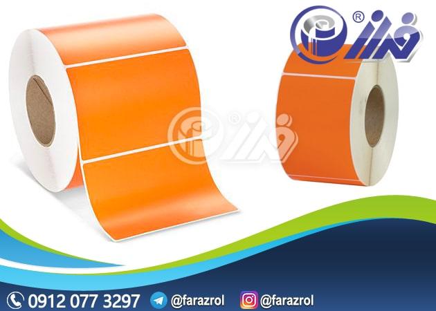 فروش برچسب کاغذی لیبل